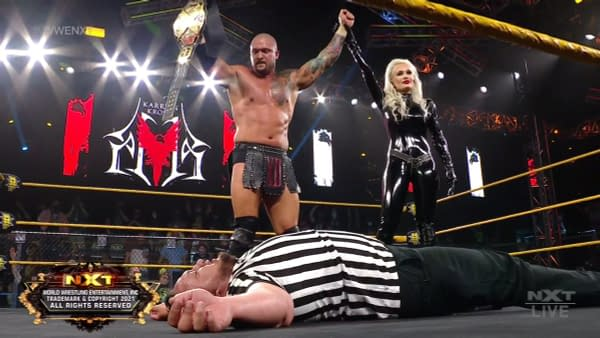 WWE NXT Recap 7/13/2021: Who's NXT Champ After Tonight's Main Event?