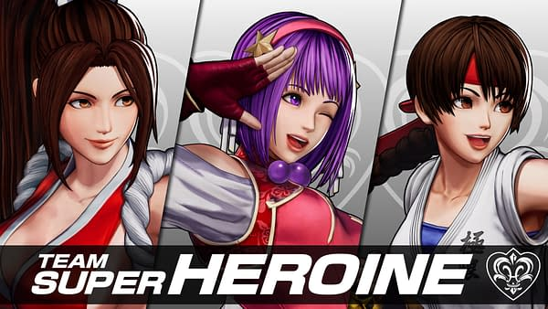 Three more fighters come to The King Of Fighters XV, courtesy of SNK.
