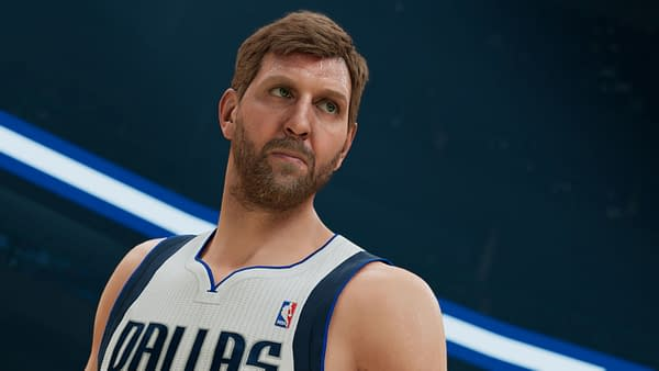 Come on, Dirk! You're on one of the covers, smile a little! Courtesy of 2K Games.
