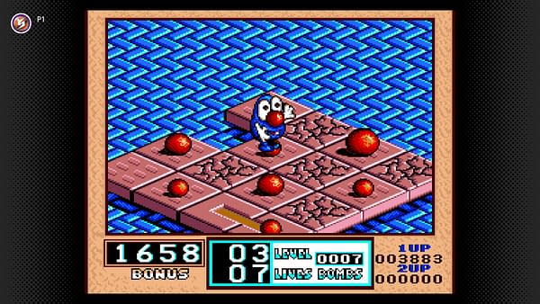 Have fun figuring out the puzzles in Bombuzal, courtesy of Nintendo.