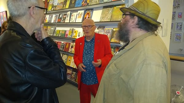 Orbital Comics Gallery Welcomed Comics Creators Last Night