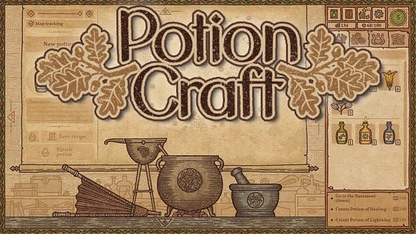Try out Potion Craft today on Steam, courtesy of tinyBuild Games.