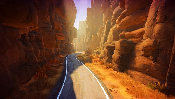 A screenshot from Road 96, a procedurally-generated indie road trip game by Montpellier-based video game developer DigixArt.