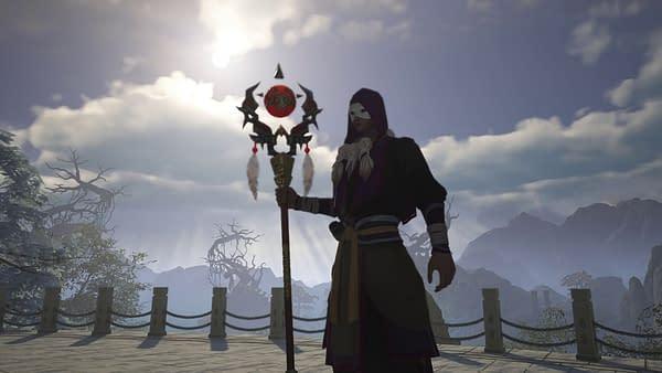 Undead Daoist in Swords Of Legends Online, courtesy of Gameforge.