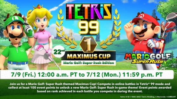 I can only imagine what special items have been made for Tetris involving golf. Courtesy of Nintendo.