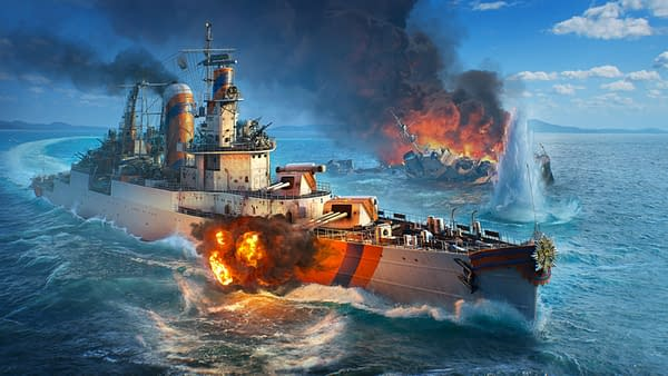 A look at a Dutch cruiser in World Of Warships, courtesy of Wargaming.