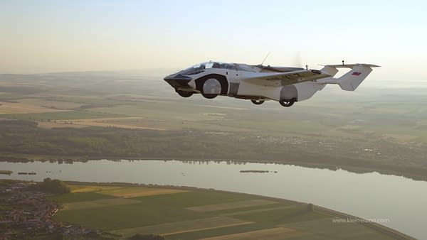 Professor Stefan Klein, Agent Of SHIELD, And His Flying Car