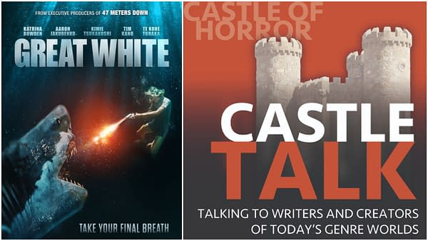Castle Talk logo and Great White poster used with permission.