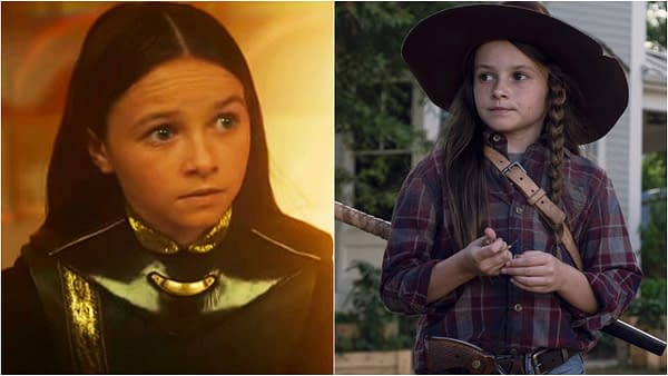 Yes, That Was The Walking Dead Star Cailey Fleming in This Week's Loki