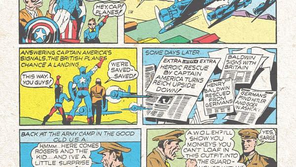 Captain America Comics #2, Marvel 1941.