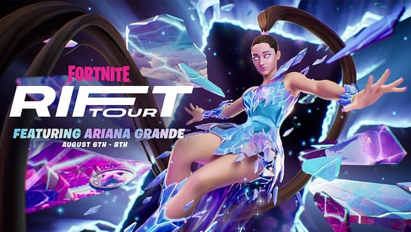 Ariana Grande Will Headline Fortnite's The Rift Tour