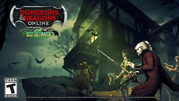 Rummage through Saltmarsh in Dungeons & Dragons Online, courtesy of Standing Stone Games.