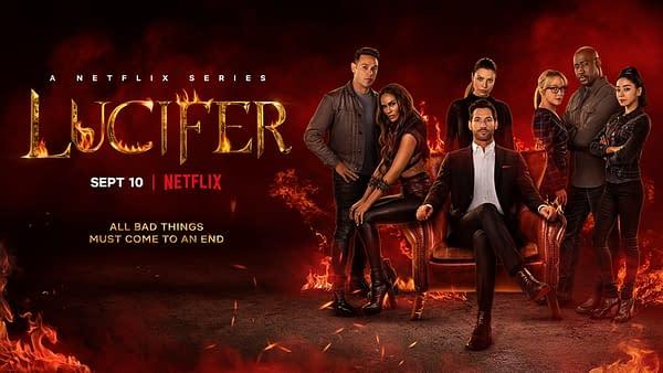 Lucifer Season 6 Key Art Doesn't Look Like the Heaven We Remember
