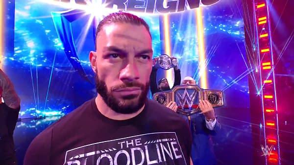 Roman Reigns appears on WWE Smackdown