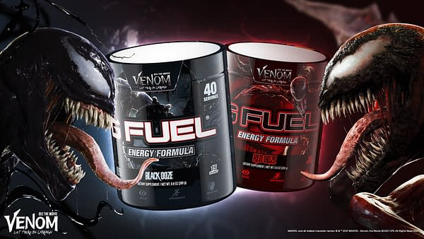 Two flavors, two villains! Courtesy of G Fuel.