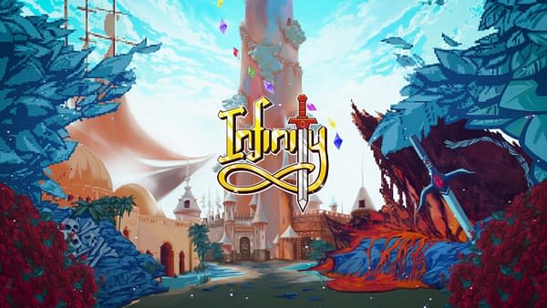 Promo artwork for Infinity, courtesy of Incube8 Games.