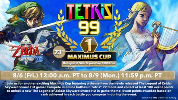 Take to the skies and then watch the pieces fall in the latest Maximus Cup, courtesy of Nintendo.
