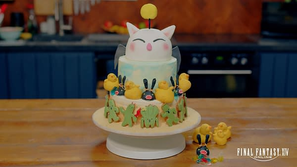 We need this Final Fantasy XIV cake in our face! Courtesy of Square Enix.