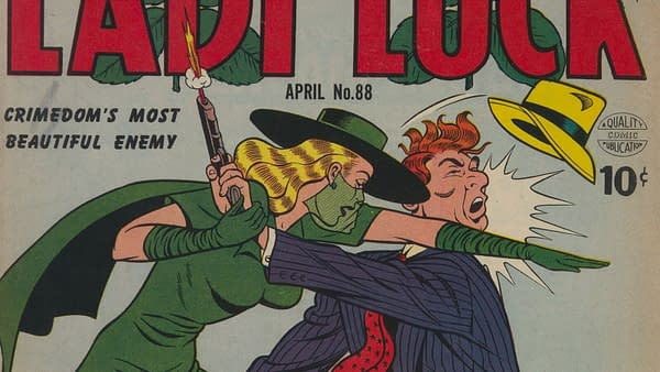 Lady Luck #88 (Quality, 1950)