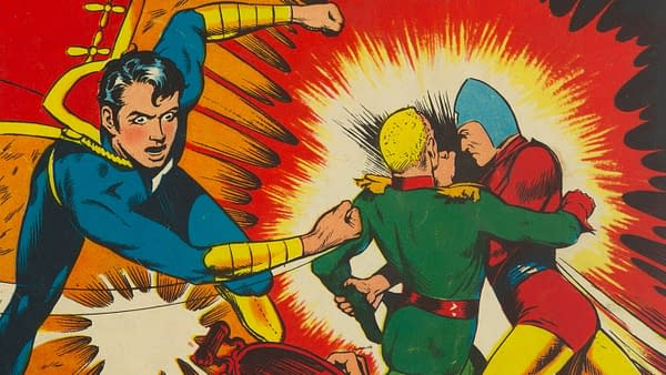 Master Comics #22, Fawcett 1942.