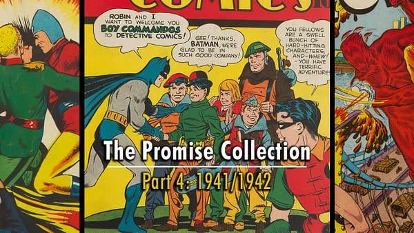 Detective Comics #65, Master Comics #22, Human Torch #8.