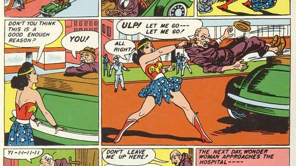 Sensation Comics #1, DC Comics 1942.