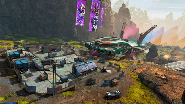 A look at the Rampart Town Takeover in Apex Legends, courtesy of Respawn Entertainment.