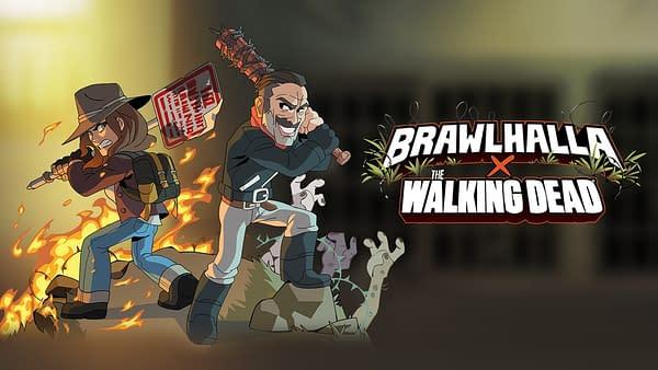 The Walking Dead's Neegan & Maggie Join Brawlhalla