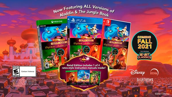 Walt Disney Games Will Release Triple Pack Of 16-Bit Titles