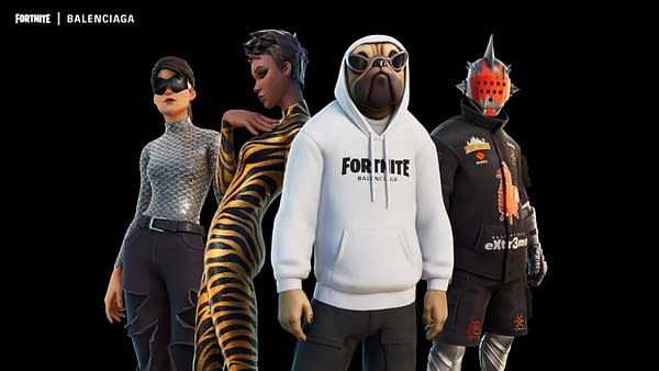 Fortnite Brings Balenciaga Fashion & More Batman To The Game