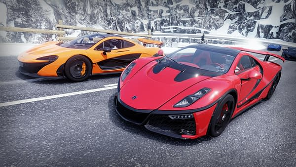 A look at some of the cars in Gear Club Unlimited 2 - Ultimate Edition, courtesy of Microids.