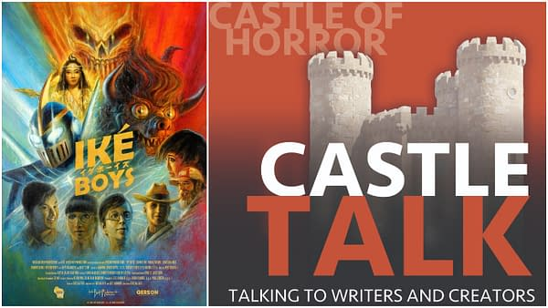 Ike Boys poster and Castle Talk logo used with permission