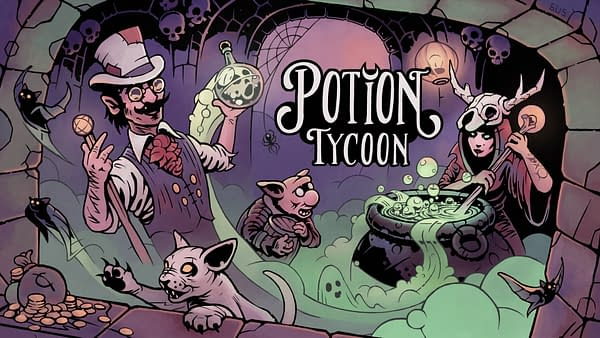Potion Tycoon Will Be Released On PC In Early 2022