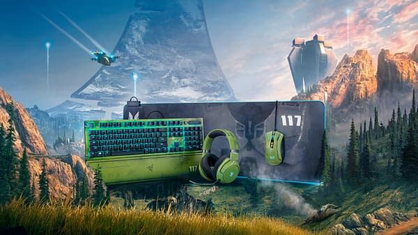 A look at the Razer Halo Infinite line of peripherals on the way this October, courtesy of Razer.
