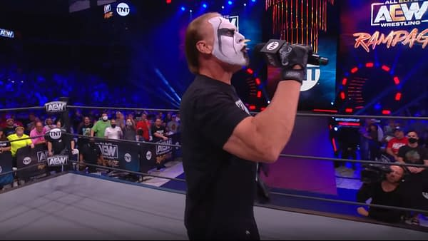 Sting torments The Chadster on another unfair episode of AEW Rampage
