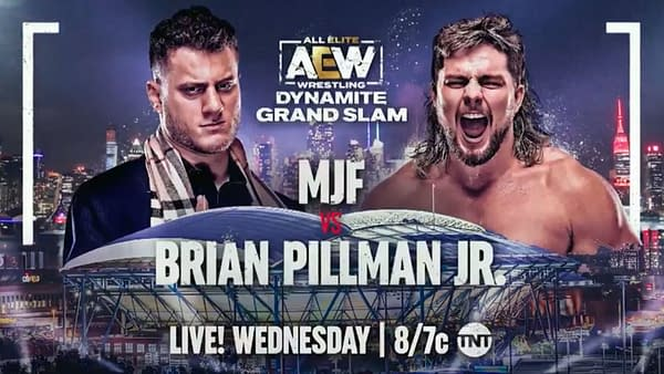 AEW Dynamite Grand Slam: Brian Pillman Jr. looks for revenge against MJF for all his shit talking