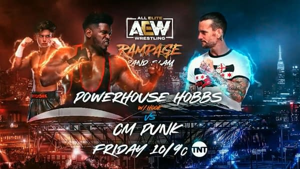 AEW Rampage Grand Slam: Powerhouse Hobbs takes on CM Punk in Punk's first TV match in seven years