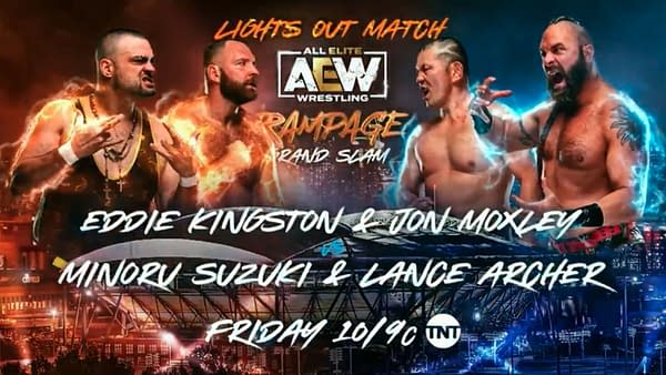 AEW Rampage Grand Slam: Eddie Kingston and Jon Moxley take on Minoru Suzuki and Lance Archer