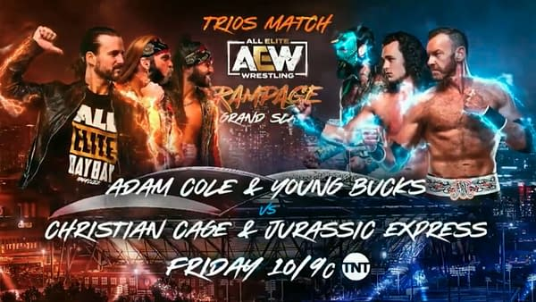 Here's the Current Full Card for AEW Dynamite and Rampage Grand Slam
