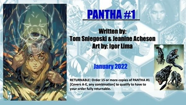 Dynamkte Launch Pantha #1 and Hell Sonja #1 In January