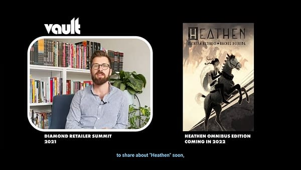 Lesbian Viking Comic Heathen Gets An Omnibus, and More, In 2022