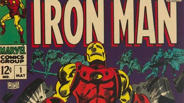 Iron Man #1, Marvel 1968.