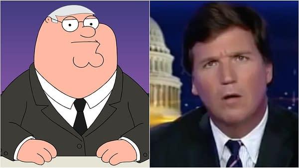 Seth MacFarlane Calls Out Fox for Family Guy/Tucker Carlson Hypocrisy