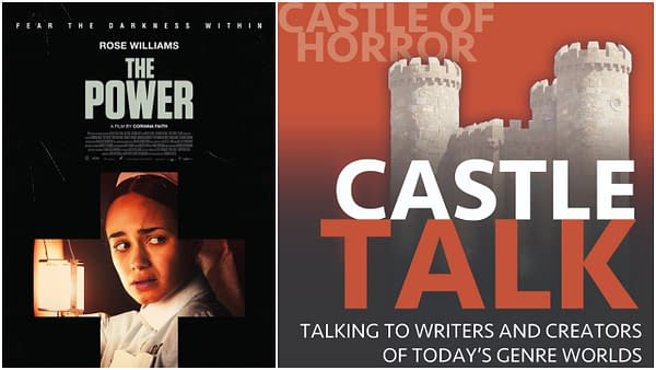 The Power poster and Castle Talk logo used by permission