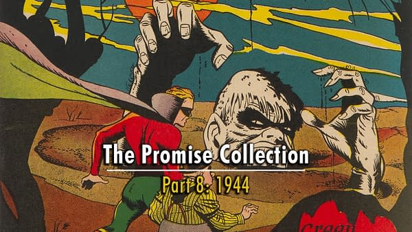 All American Comics #61 featuring Solomon Grundy, DC Comics 1944.