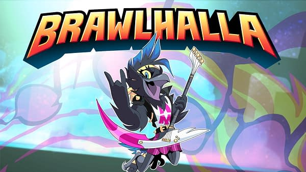 A look at Munin as they appear in Brawlhalla, courtesy of Ubisoft.