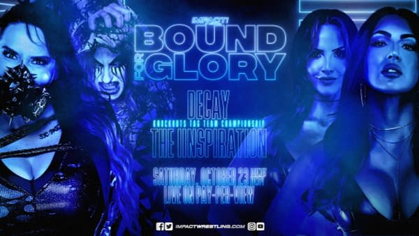IInspiration Get Title Shot in First Match at Impact Bound for Glory