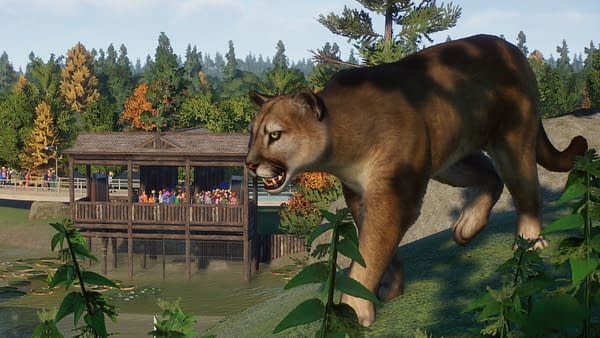 Planet Zoo Releases The North America Animal Pack