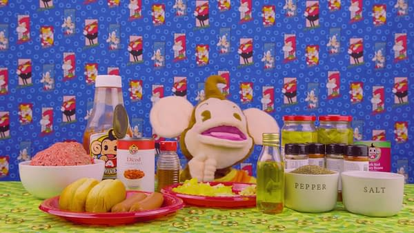 I mean, come on, its a puppet making food! Courtesy of SEGA.