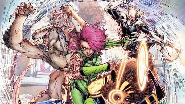 Brett Booth's New Kickstarter Superhero Comic, The Anybodies
